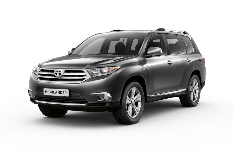 2012 Toyota Highlander Crossover Wallpaper