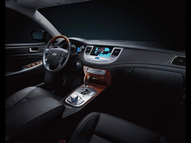 2012 Hyundai Genesis Dashboard Design