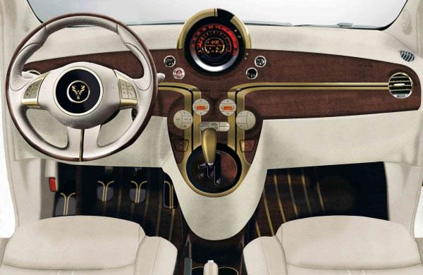 Fenice Milano La Dolce Vita Fiat 500 Wallapaper