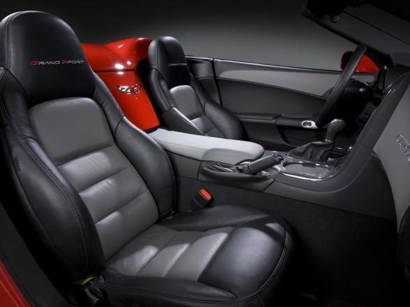 2010 Chevrolet Corvette Grand Sport Interior