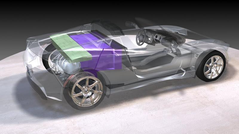 2013 Tesla Roadster 2.5 Sport Chasis Specification