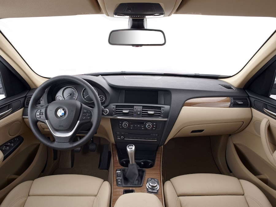 2012 BMW X3 Interior Design