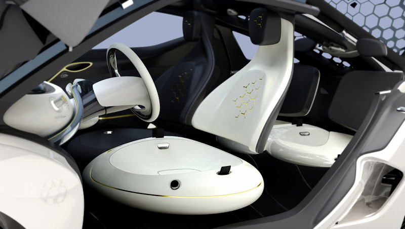 Renault Zoe Z.E Interior Design