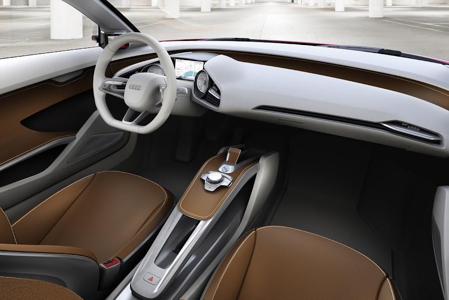 Audi E-Tron Concept Interior Design