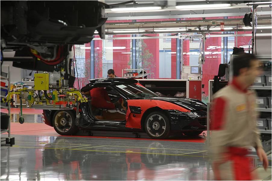 Ferrari Assembly Plant