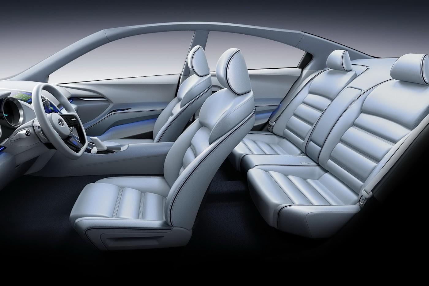 2012 Subaru Impreza Concept Interior