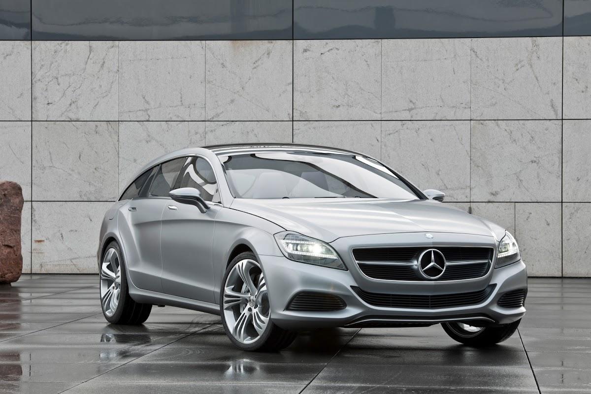 Mercedes-Benz CLS Shooting Brake Concept