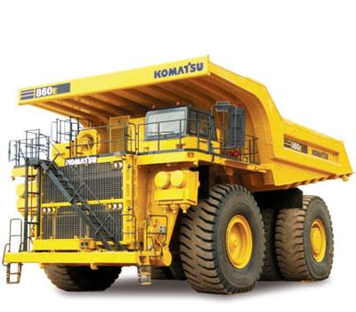 KOMATSU HAULPAK 860E