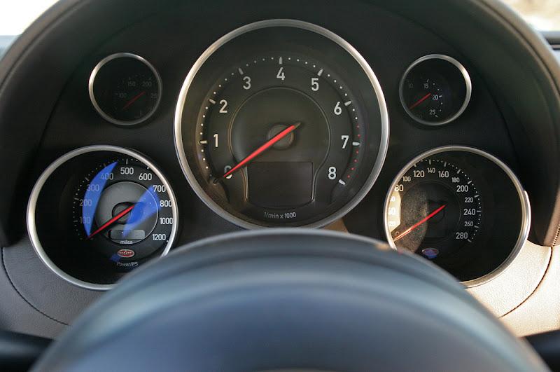 2011 Bugatti Veyron Super Sport Indicator Gauge