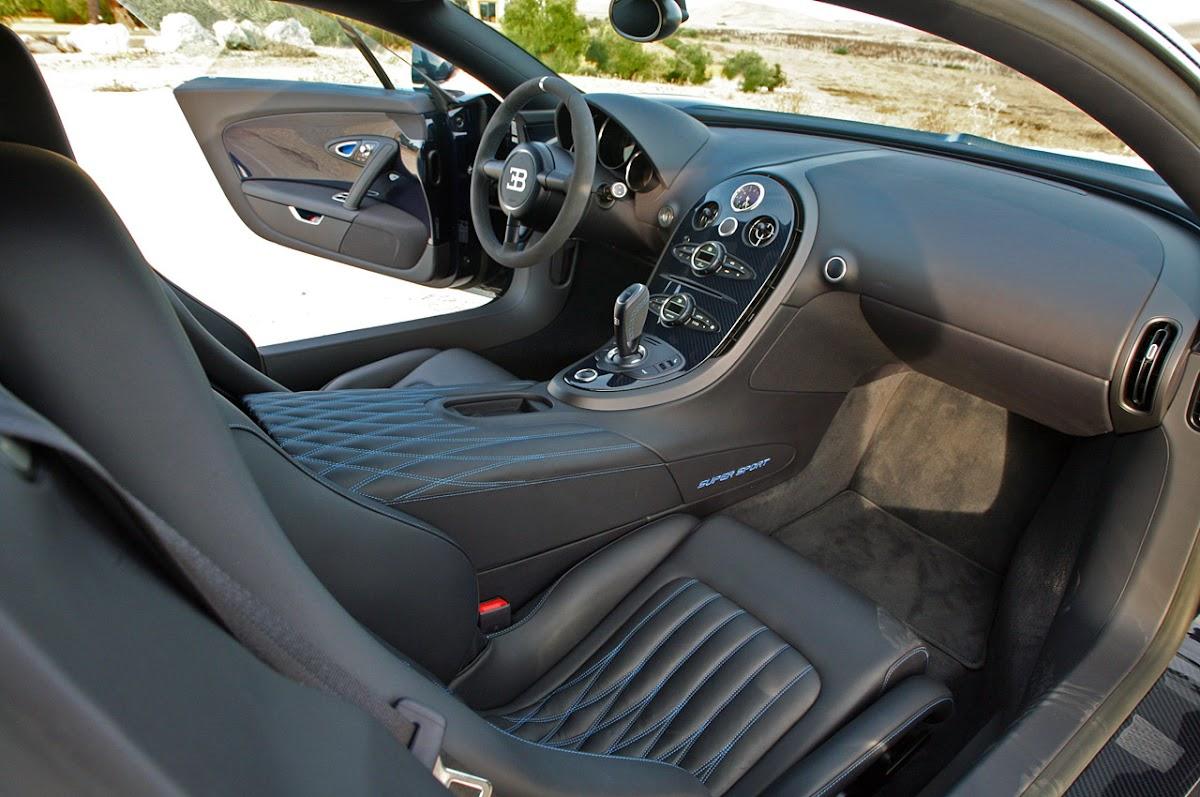 2011 Bugatti Veyron Super Sport Interior