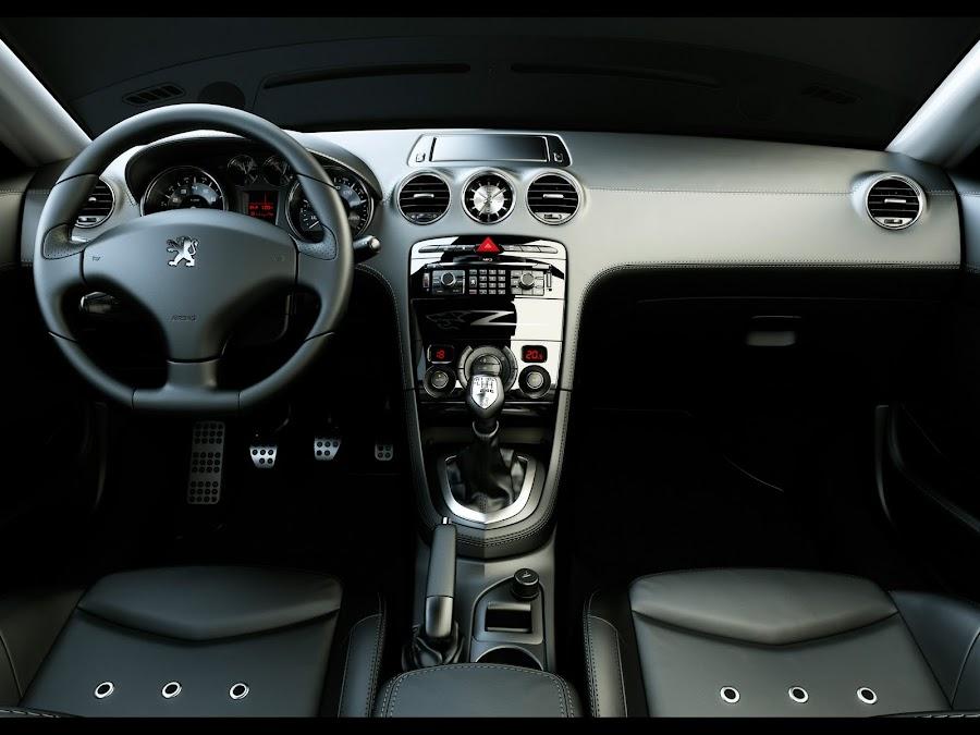 Peugeot RCZ Interior Design
