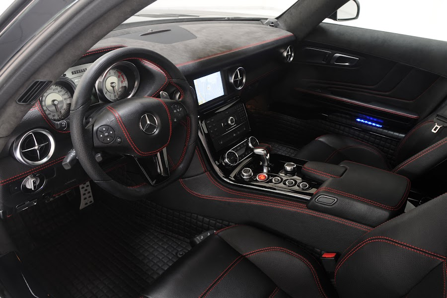 Mercedes SLS AMG Brabus Widestar Interior
