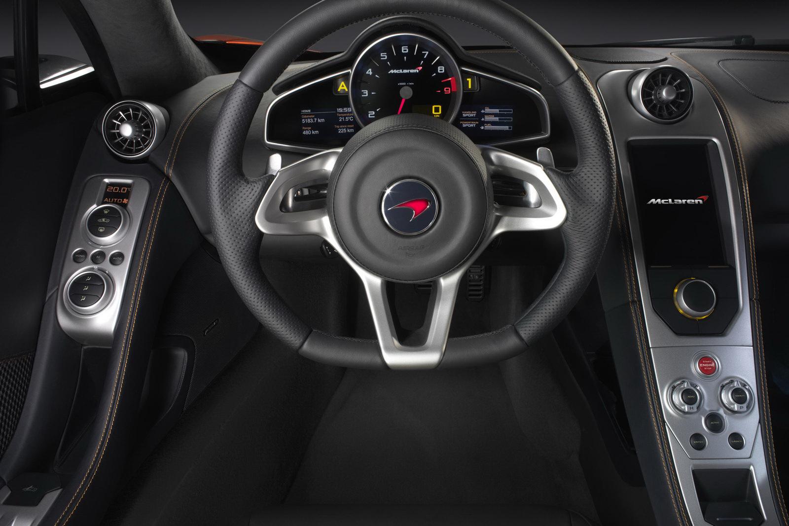 Good McLaren MP4 12C Interior