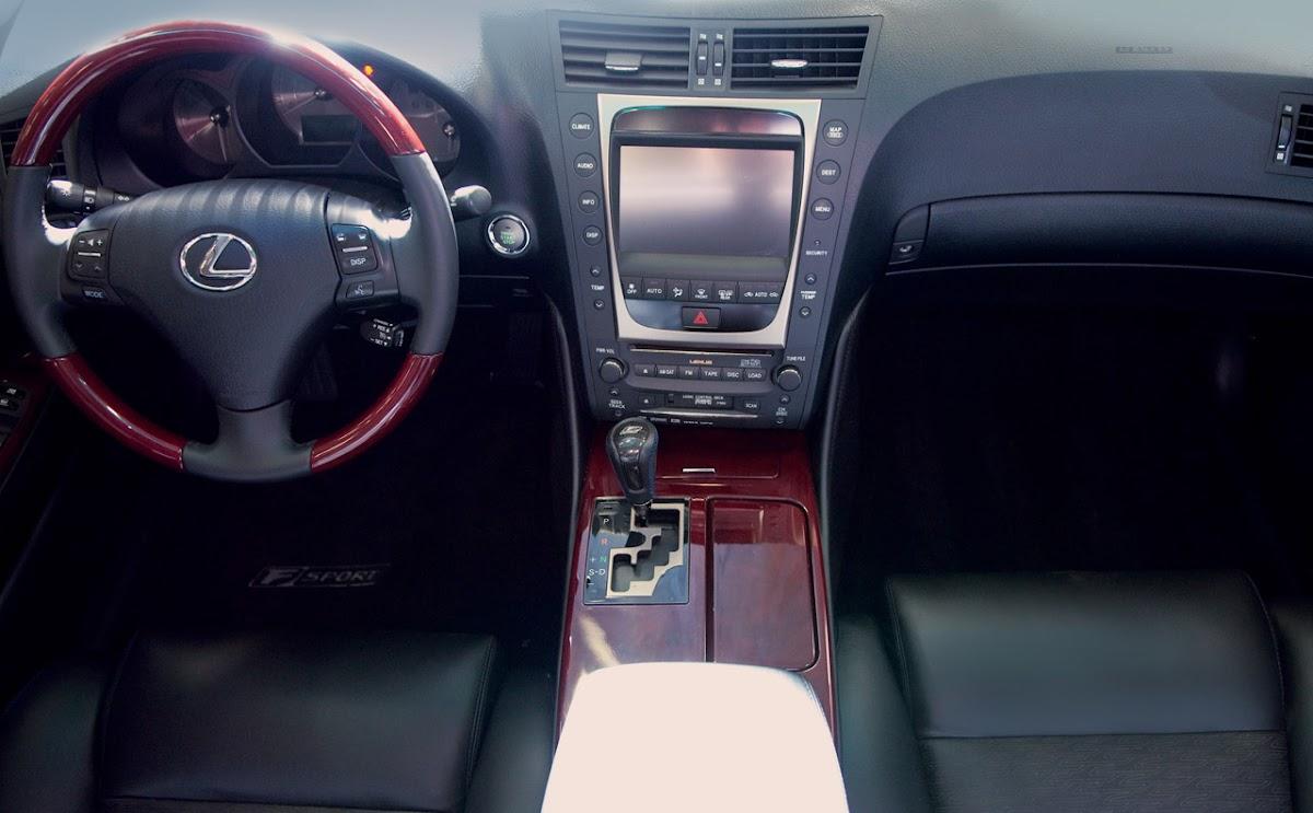 2010 Lexus GS 350 F-Sport Interior