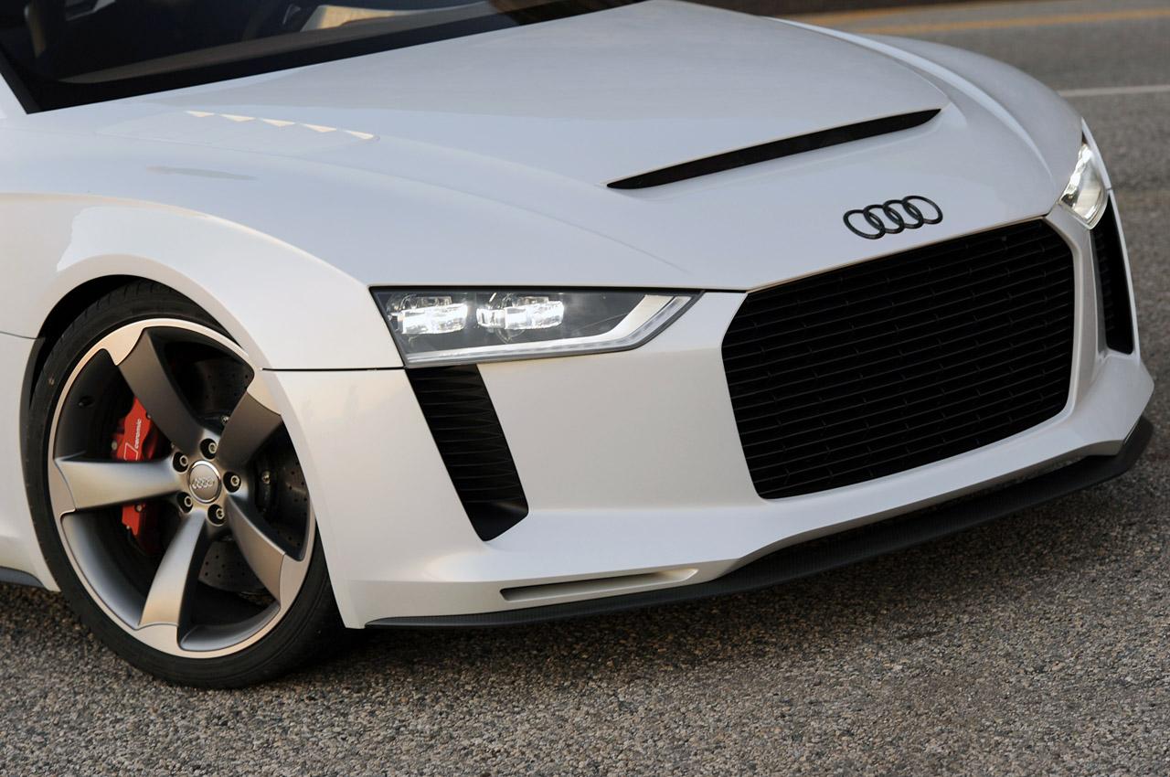 Wallpaper Audi Quattro Concept