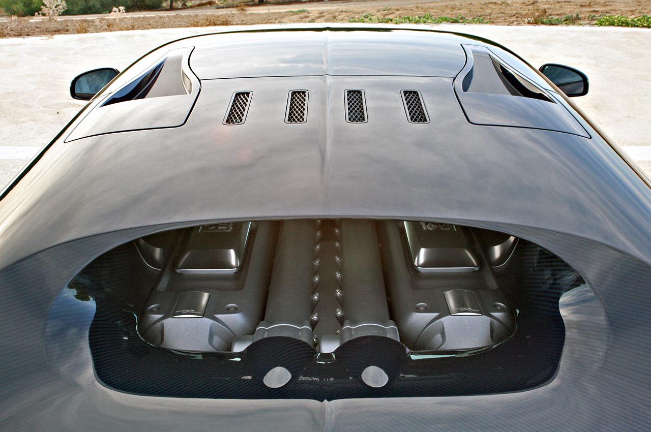 2011 Bugatti Veyron Super Sport Engine
