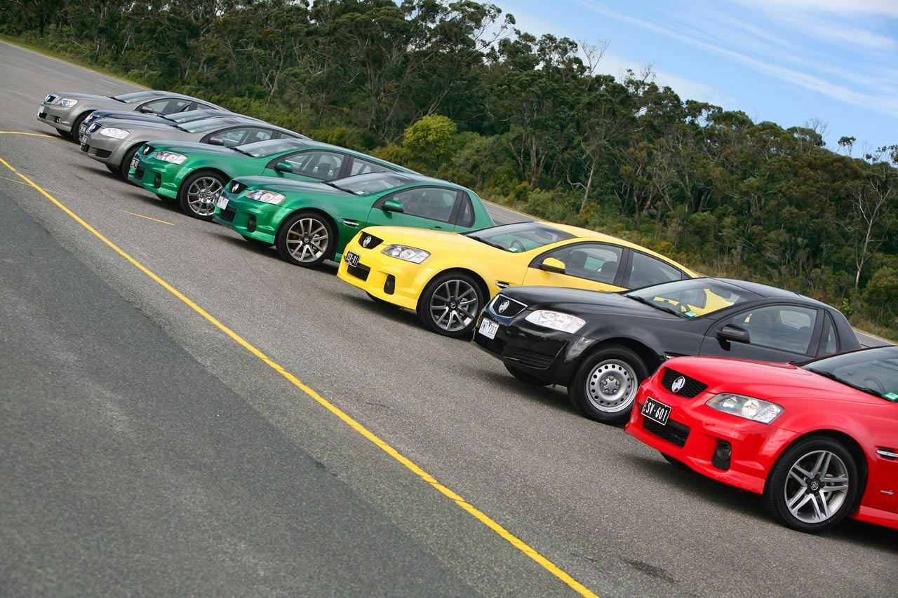 2011 Holden VE Series II Commodore Ready For Race