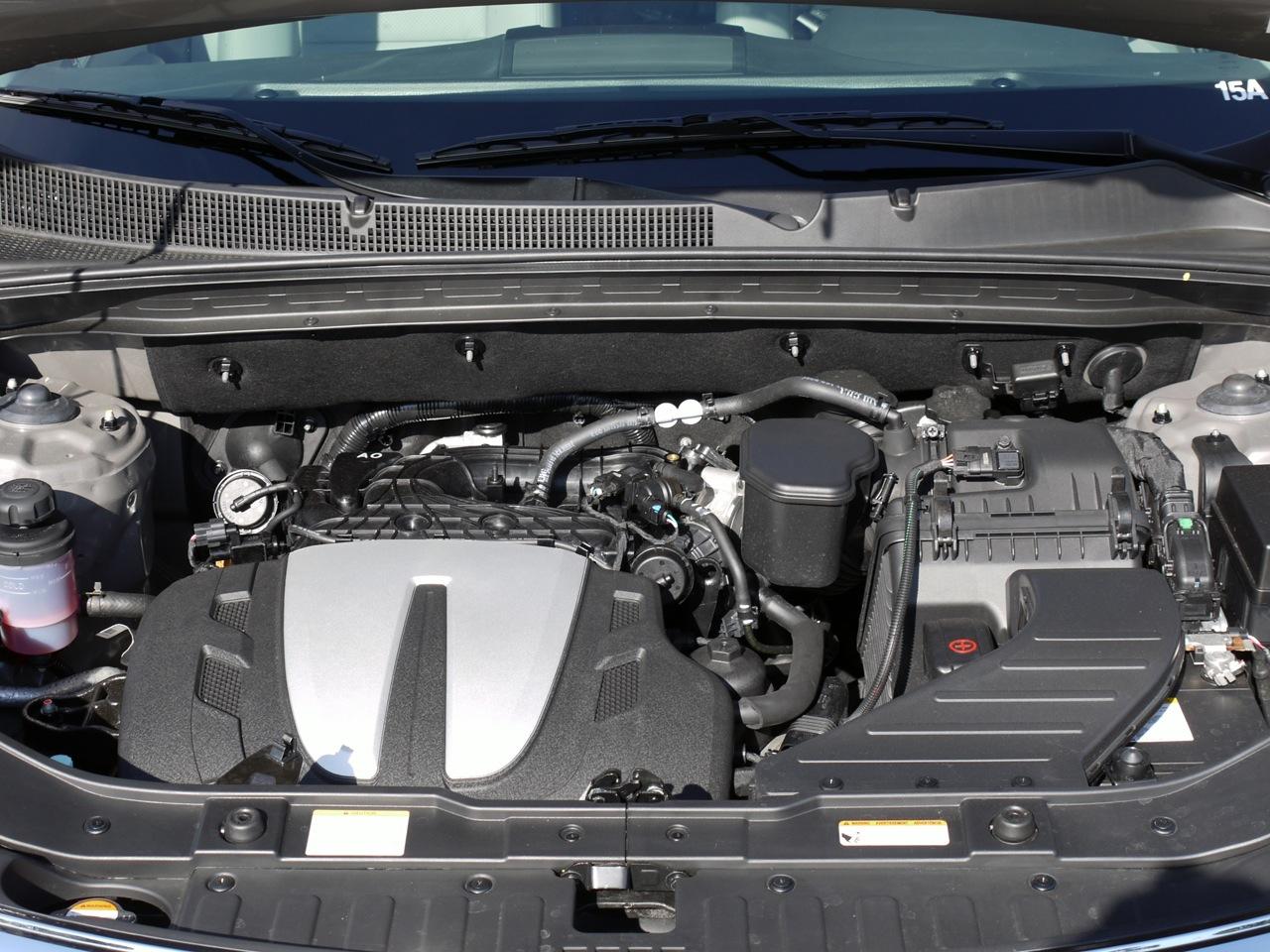 2011 Kia Sorento Engine