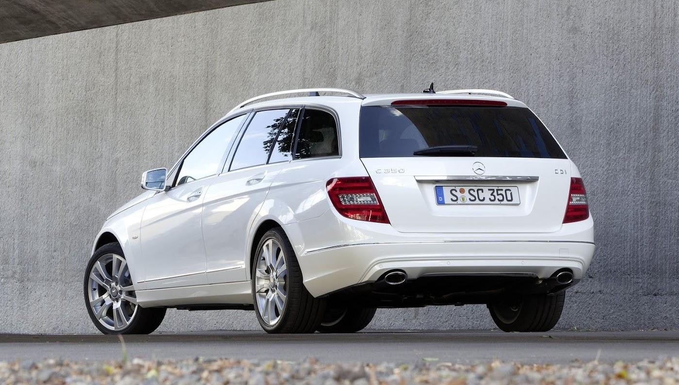 Mercedes C-Class Estate Wallpaper