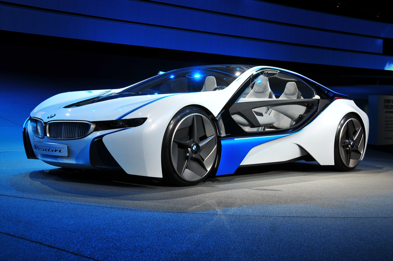 New Bmw Vision Efficient Dynamics Hybrid Auto Car Reviews