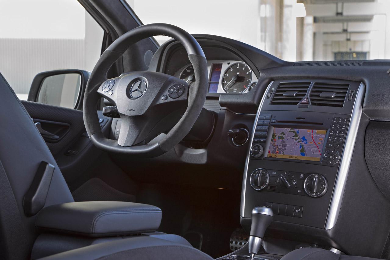 Mercedes-Benz B55 Interior Design