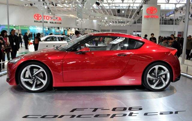 Sports Car Toyota FT-86