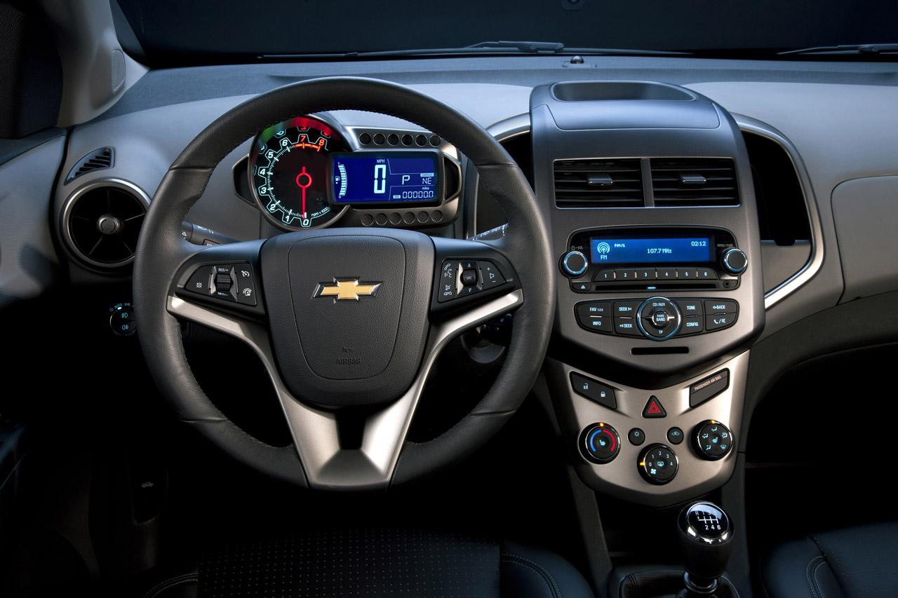 2012 Chevrolet Sonic Hatchback Specsificaton