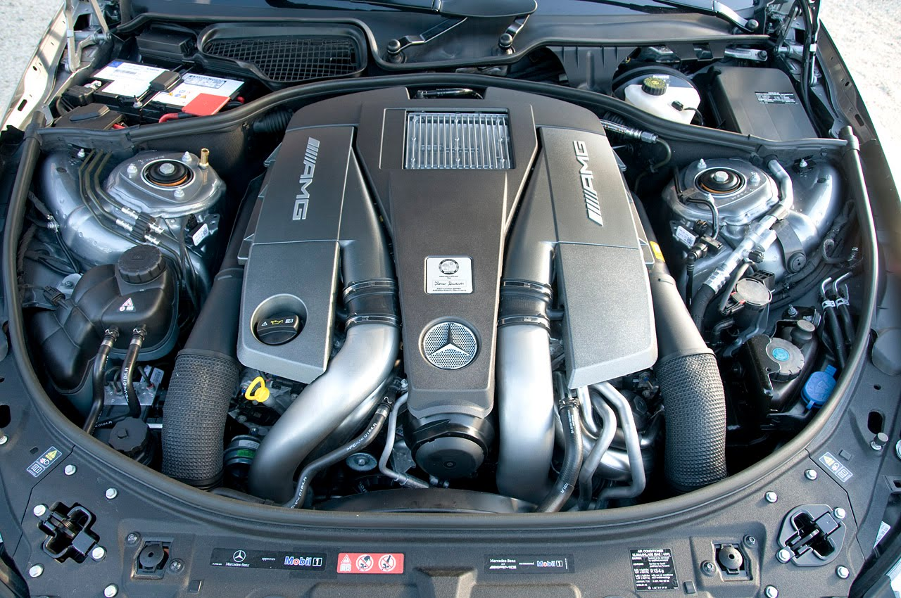 2011 MERCEDES-BENZ CL63 AMG ENGINE