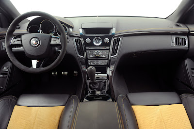 2012 CADILLAC CTS-V COUPE INTERIOR