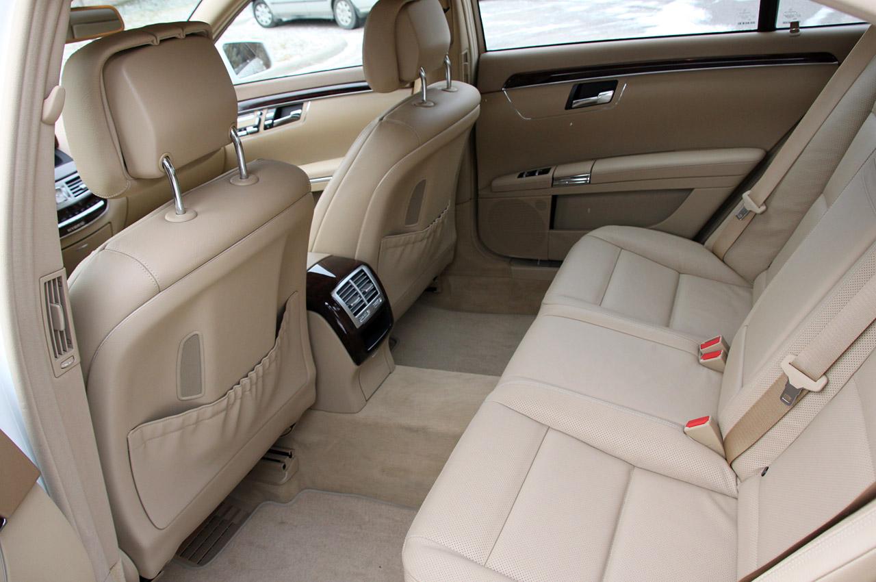 2010 MERCEDES-BENZ S400 HYBRID SEAT DESIGN