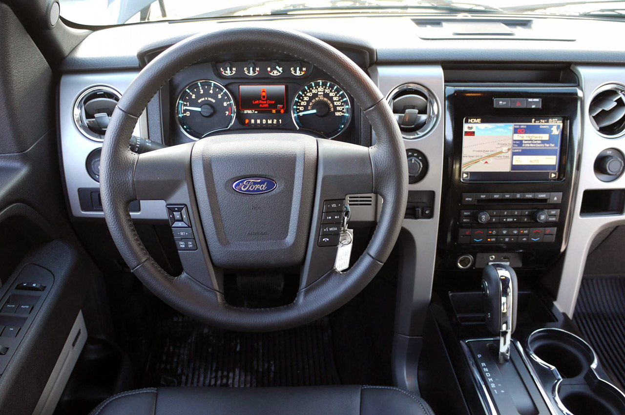 2011 FORD F-150 INTERIOR DESIGN