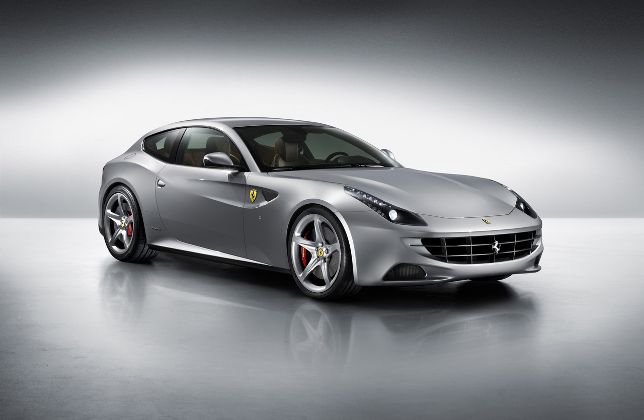 2012 FERRARI FOUR LUXURY CAR SPORTY