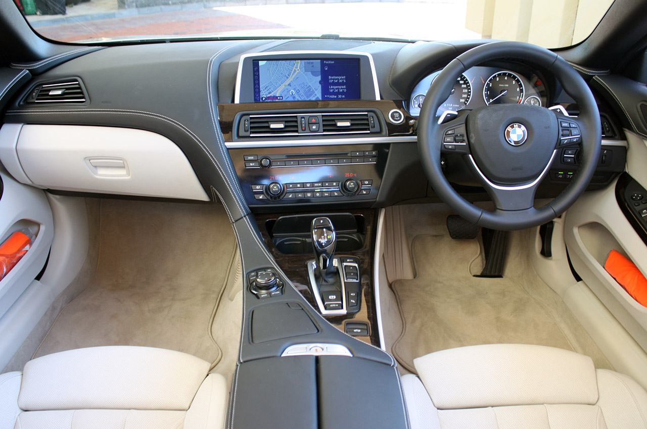 2012 BMW 6 SERIES CONVERTIBLE INTERIOR DESIGN