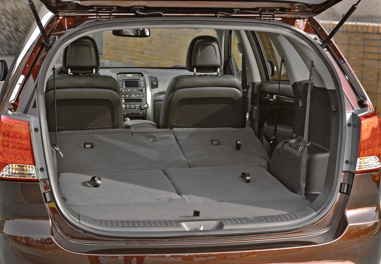 2011 KIA SORENTO SX SEAT SPECS