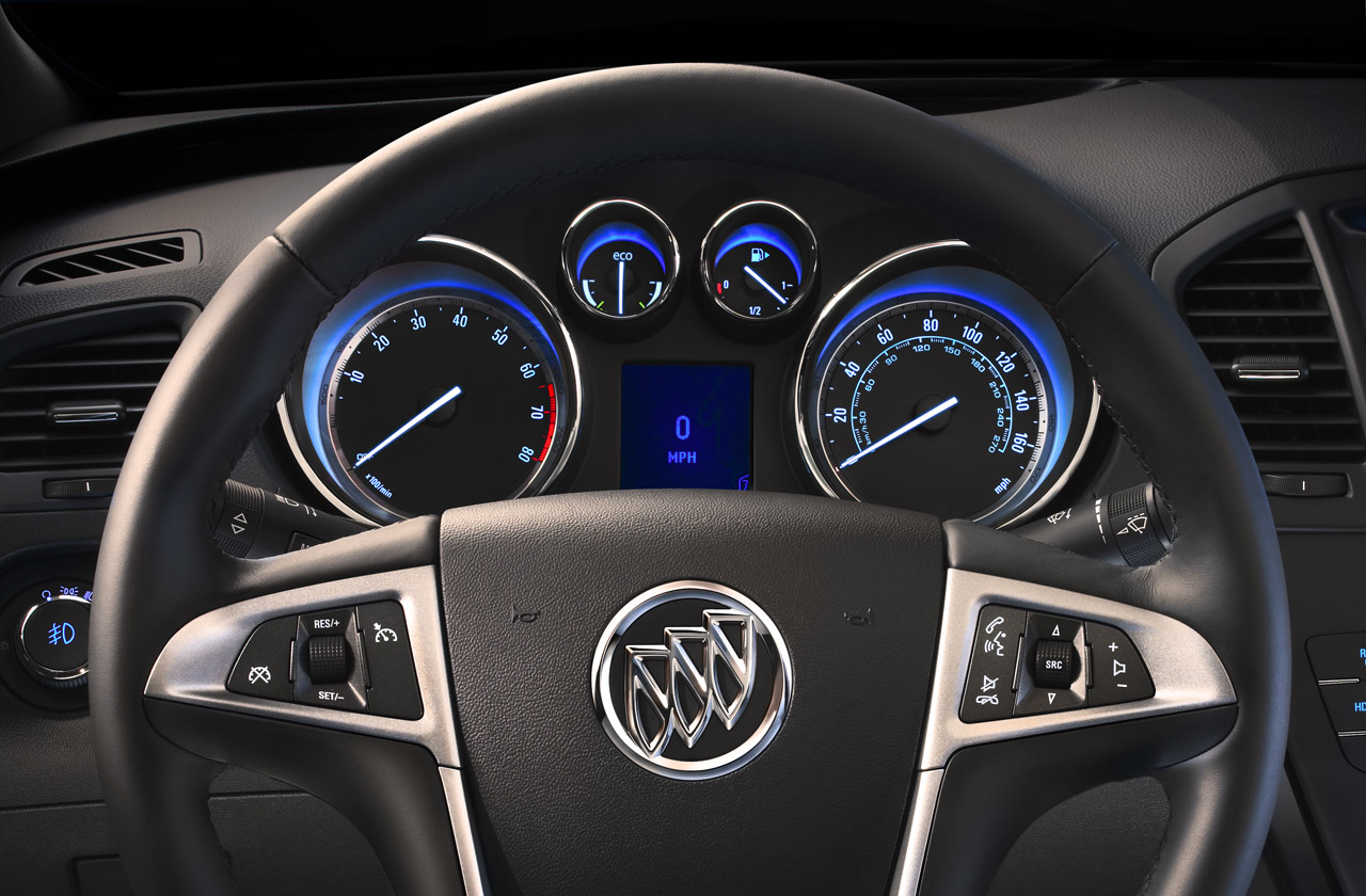 2012 BUICK REGAL EASSIST STEERING DESIGN