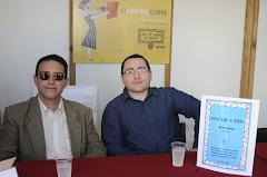 Firma del libro 41 Feria libro de Valencia