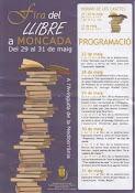 Feria del libro Moncada 2009