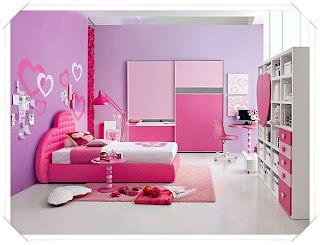 decoracao romantica rosa Quarto dos sonhos