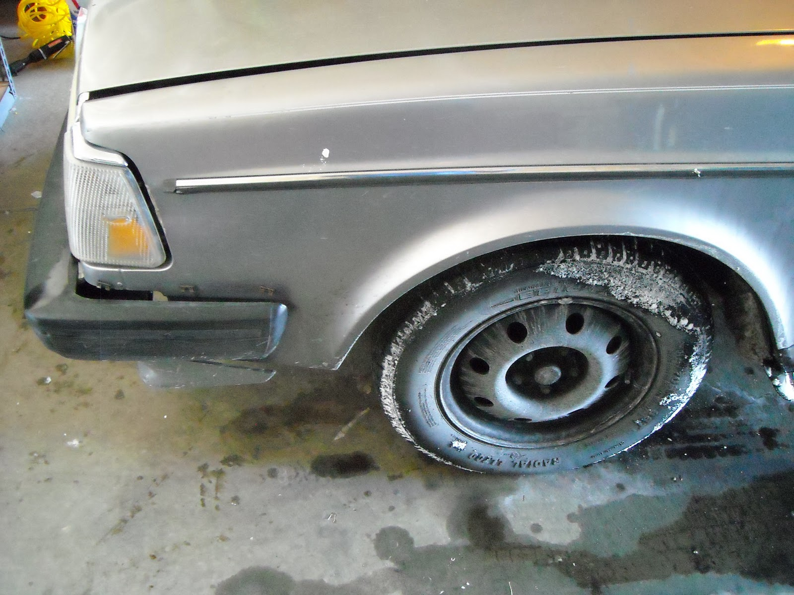 Volvo 240 Trim - Missing Bumper Trim - Volvo 240 Trim