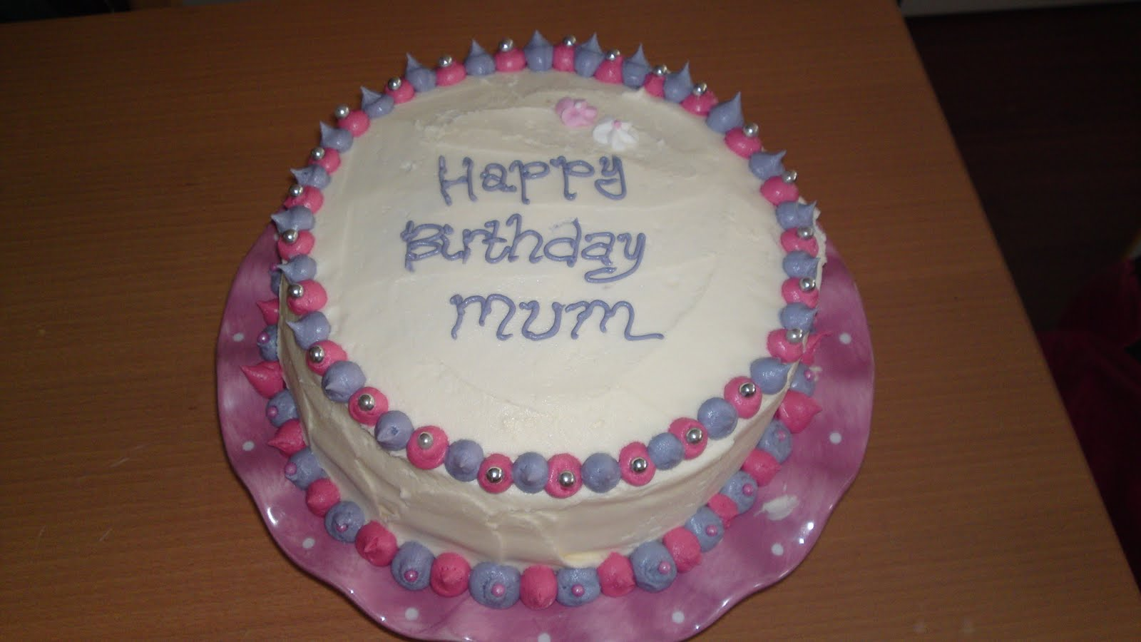 birthday cakes recipes for mums