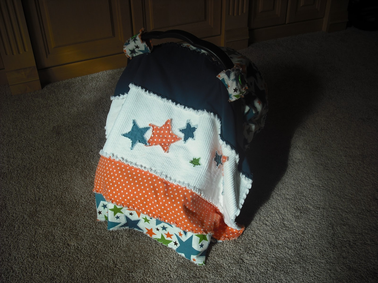 My Fairy Grandmother: Baby Car Seat Covers/Canopies