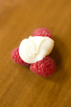 white chocolate raspberry clusters