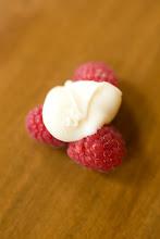 white chocolate raspberry clusters