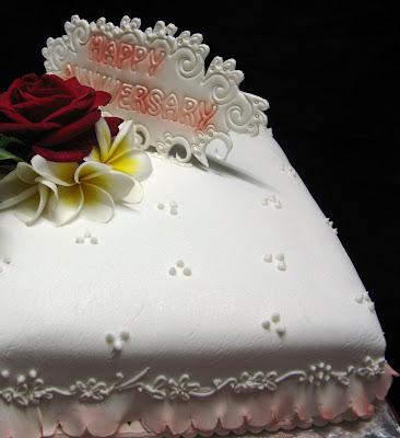 Wedding Anniversary Cake February 2008