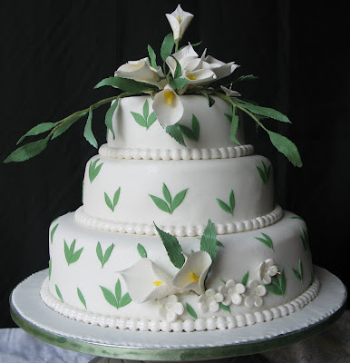 3 Tiered Wedding Cakes