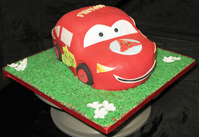 Sugarcraft by Soni Birthday Cake Car September 2008