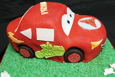 Sugarcraft by Soni Birthday Cake Car September 2008