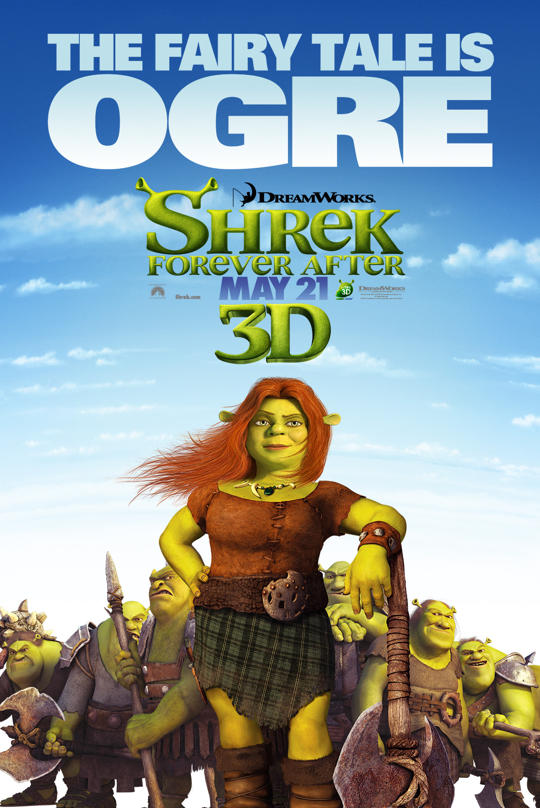 wasting time yeaa proximamente shrek forever after