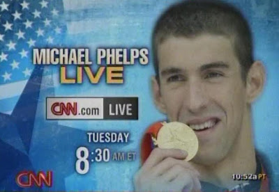 Michael Phleps CNN LIVE Tuesday August 19, 2008