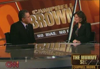 Campbell Brown Jeffrey Toobin No Bias No Bull CNN NOvember 14, 2008